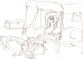 Bed Switching - Sketch by ArdonSword
