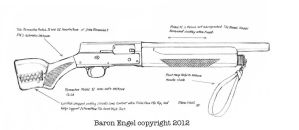 Remington Model 11 whipit gun by Baron-Engel