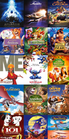 Disney 28 Must-See movies by WhiteCattheheroqueen