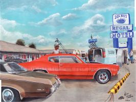 The Life Story Of A 1970 Chevy Chevelle (Part 38) by FastLaneIllustration