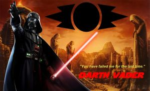 Dark Side Background 01: Darth Vader by DarthVaderXSnips