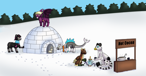 .:Evoloons - Winter Disaster Event Part 2 and 3:. by Malla123