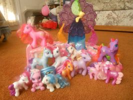 My little pony family photo / my collection by Iloveyaoi84