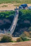 HaBsor Bridge, Negev, Israel by Eliweisz