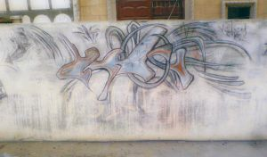 abstart art graffiti by injured-eye