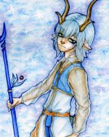 Pluto the reindeer Icemage by huina