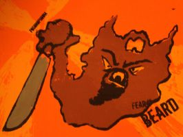 Fear the Beard btches by justencase