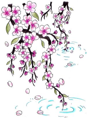 Cherry Tree Tattoo Designs. cherry blossom tattoo