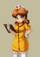 Nurse Daisy by Razorkun