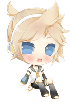 Chibi Len Kagamine by Cubic-Factory