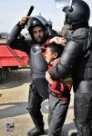 Thus, the police treated the children in Egypt by Lensofphotographer