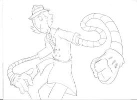 Inspector Gadget scketch by joaobw