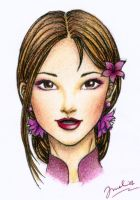 Chinese girl by meldy