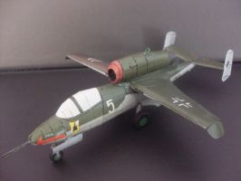 Heinkel He-162 1:50 by Mrpalaces