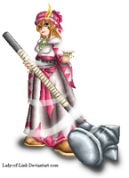 Pixel White Mage by Lady-of-Link