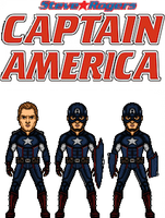 Captain America(steve Rogers) by doctorstrange7