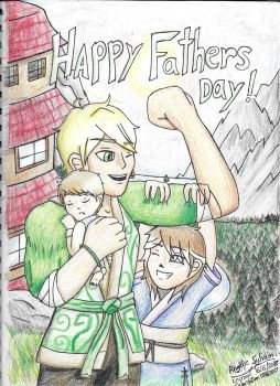 Happy Fathers Day by TheCreator2009
