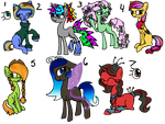 50PonyThemeChallenge Adopts 3 (WINNERS ANNOUNCED) by FallenFateAdopts