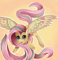 Rainbow Power Fluttershy by WhimsicalMachines