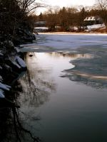 Ray Of Light Upon The Ice by LauraLeaFallen