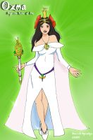 Ozma of Oz by saintfighteraqua
