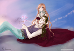 Darcy and Valtor - gender switch by Lonome