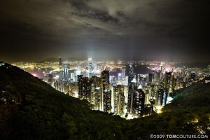 Hong Kong by Night by tomcouture