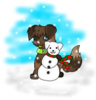 Snowpup by disowned-puppy