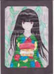 Jigoku shoujo draw by Jigokusaya