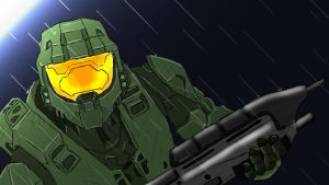 Master Chief v1 by HellDemonDavey