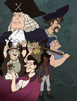 Jolly Roger Crew - 20 Years by complextalent