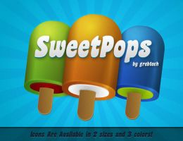 SweetPop Icons by grebtech