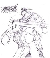Super Street Fighter IV by the-real-Payne