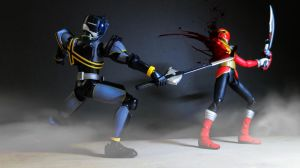 Kamen Rider Dark Decade vs Captain Marvelous 04 by Digger318