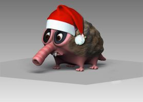 Bobo The Ant Eater Jingle Bell by moderninnova