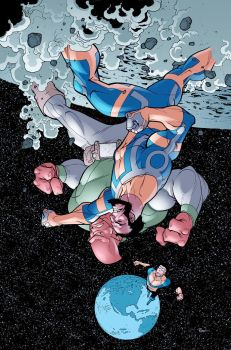 Invincible 43 cover by RyanOttley