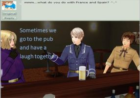 Ask 5: With Spain and France by Ask-Prussia-MMD