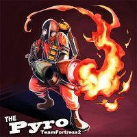 TF2 PYRO by KEISUKEgumby