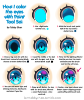 Eye color tutorial by iamtabbychan