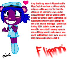 Flipanni -flippy sue- by nicolethebeagle12