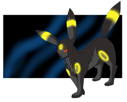 Request - Umbreon by Cahzuda