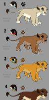 lion for adoption by STAFREE
