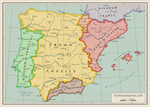 The Iberian Kingdoms (c. 1270) by Undevicesimus
