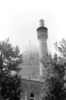 Iran Isfahan royal mosque 1970s by BlackWhitePictures