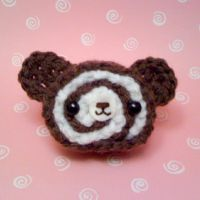 Amigurumi Chocolate cake roll by amigurumikingdom