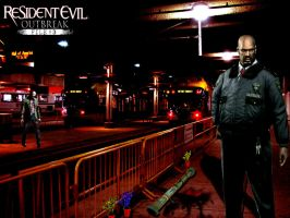 Resident Evil File 3 : Mark by caorr