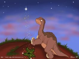 Littlefoot and the Tree Star by Sweet-Amy-Leah