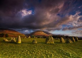 Castlerigg Standing Stones by DL-Photography