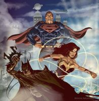 DC Trinity by Adobewan