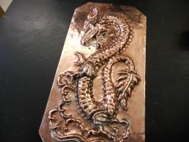Chinese dragon repousse by mashy-potatoes